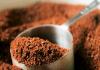 Marc de café pour le potager
